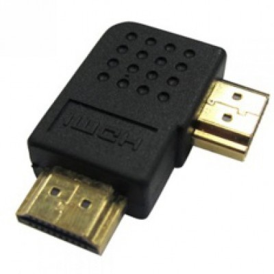 AVF HDMI 19pin Male to Male L-Shape (Left) - AHDMI123