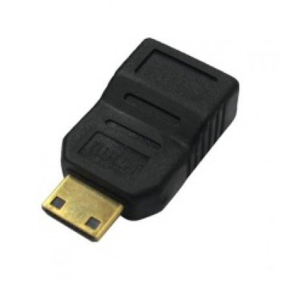 AVF Mini HDMI 19pin Female to Male Adapter - AHDMI144