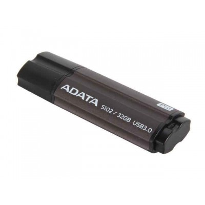 Adata 32GB S102 USB3,0 Flash Drive Gray (AS10SP-32G-RGY)