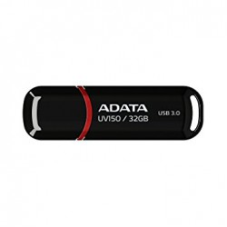 Adata 32GB UV150 USB3.0 Flash Drive Black (AUV150-32G-RBK)