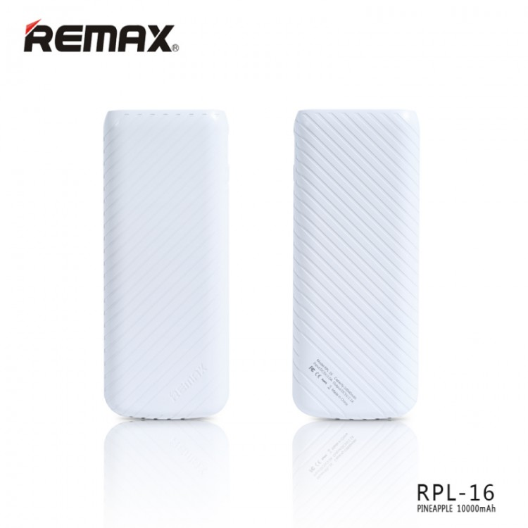 Remax Power Bank Pineapple Series 10000mAH (BA0131WH)